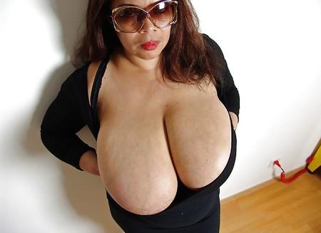 Mature Mega Boobs