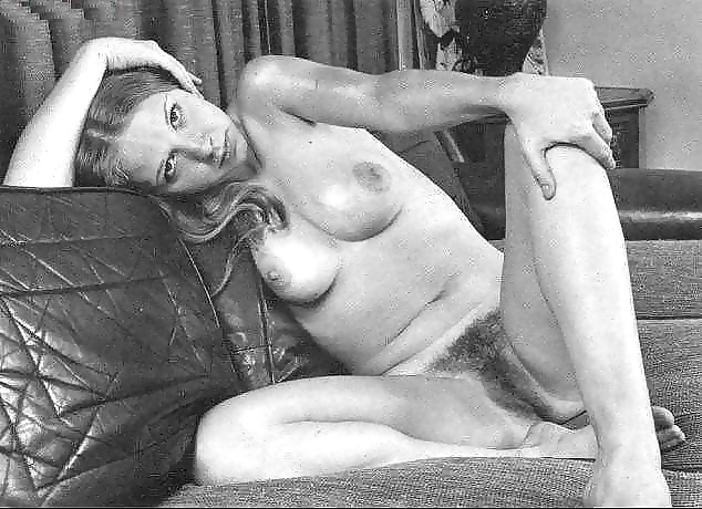 Retro vintage big pussy with