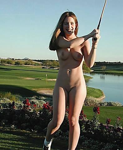 Nude Nude Lady Golfer Scenes