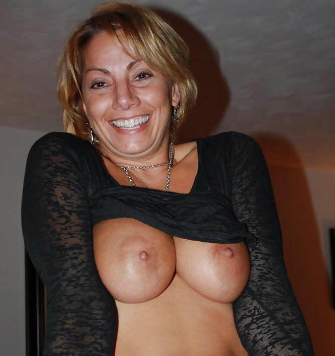 Big tits tiny top