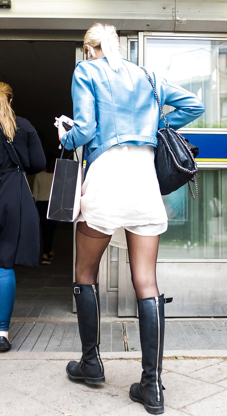 Candid Street Pantyhose Tights -9 - 139 Pics - Xhamstercom-3165