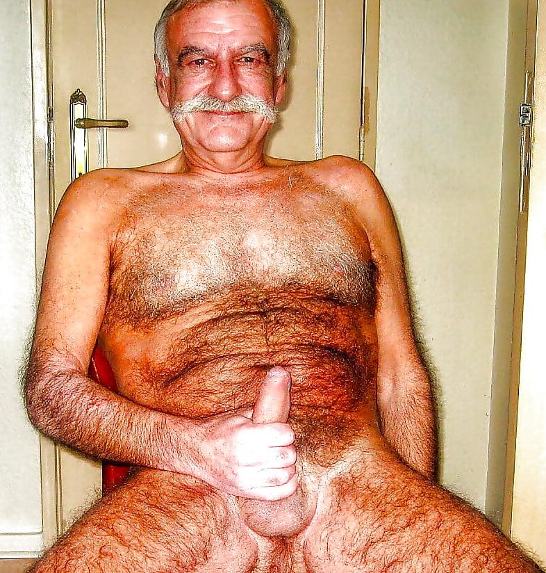 Irani oldmen naked