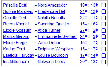 National Chicks Championship - France 1st Division- 17th day