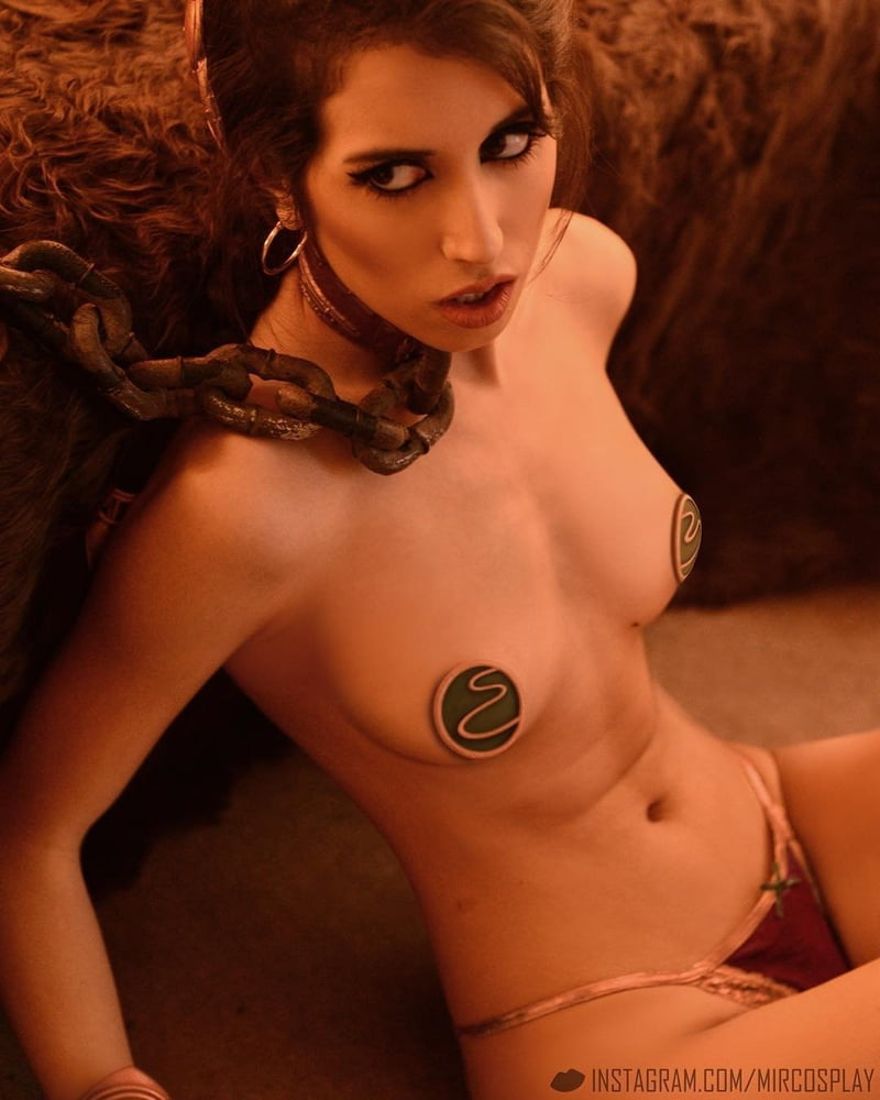 Princess leia slave costume nude