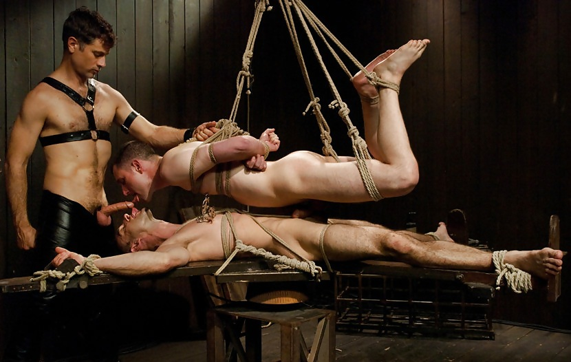 Nude male torture