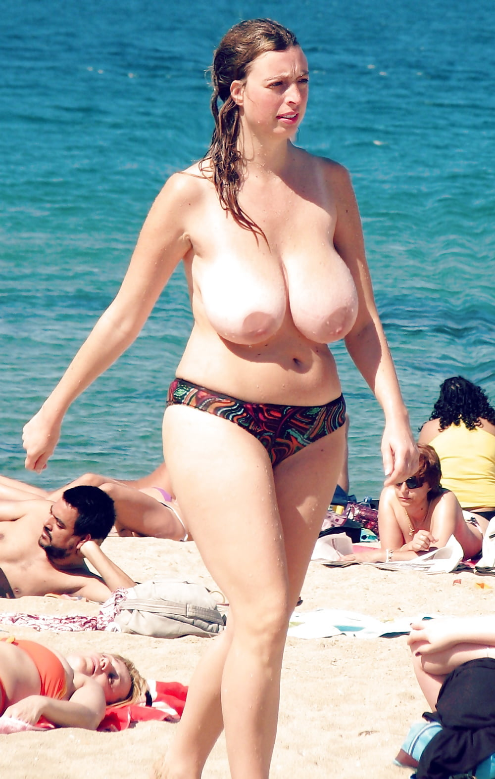 Fat tits at the beach mature sex