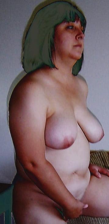 Naked fat white ladies-6023