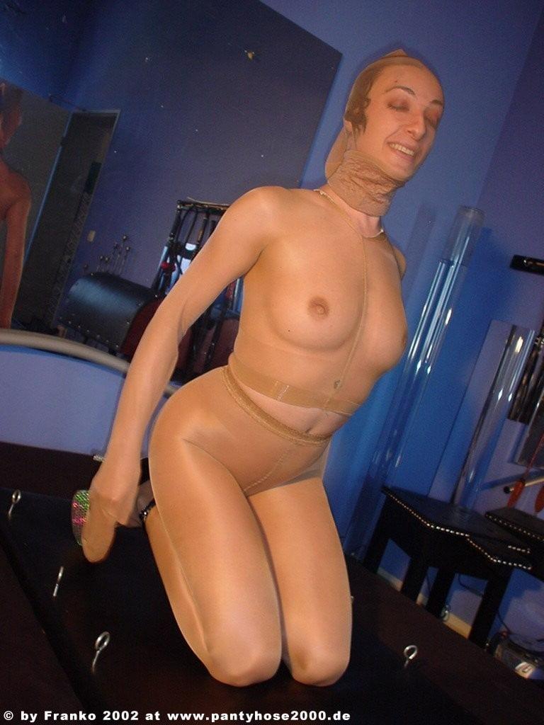 Pantyhose encasement porn-9137