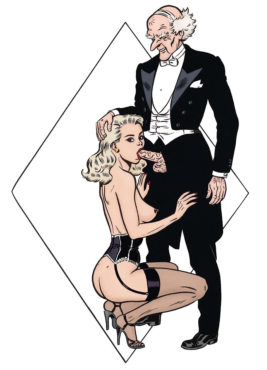 это банально порно клуб выдающихся джентльменов девушки