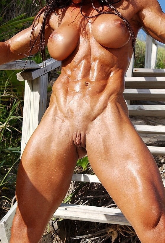 Close up female muscle pussy #9
