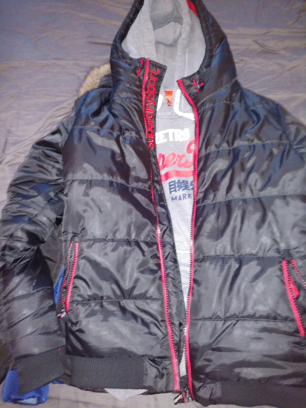 Jeans jacket with belt