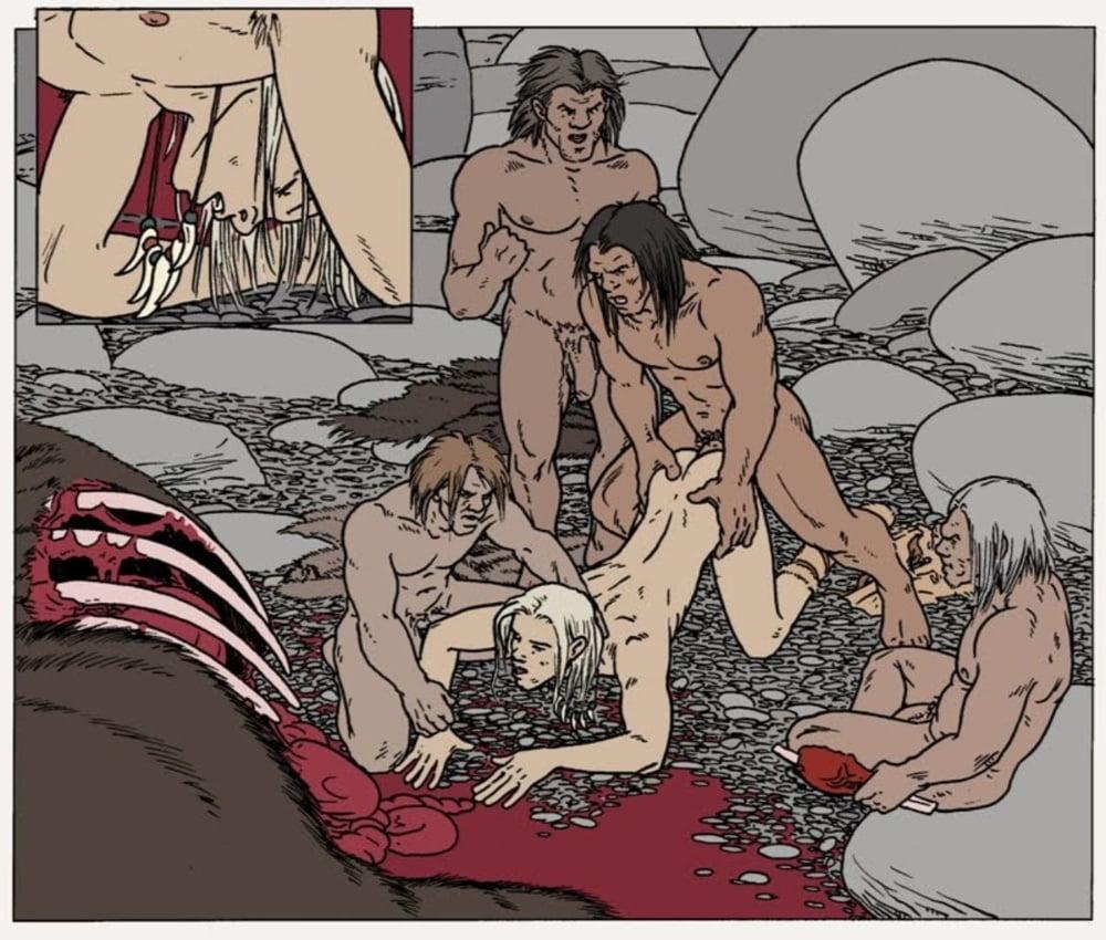 Фото голые ебется как первобытный порно фильмы