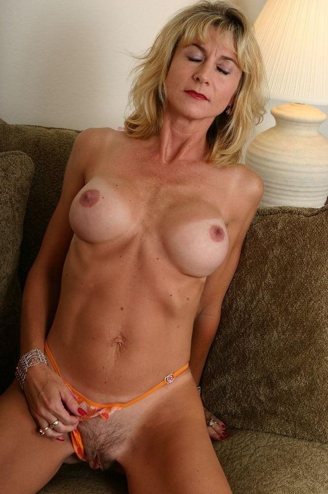 Hot tan body milf