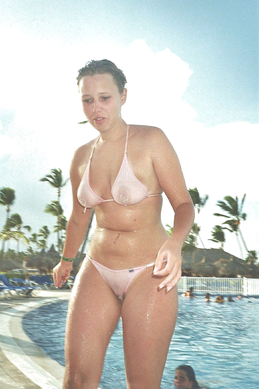 Hot wife in a bikini, hot gothic girls models