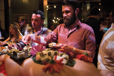 London's Naked Restaurant Where Diners Eat Completely In The Buff Set To Return Permanently