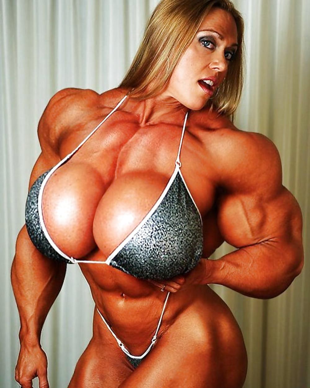 Bodybuilding Women Boob Nude