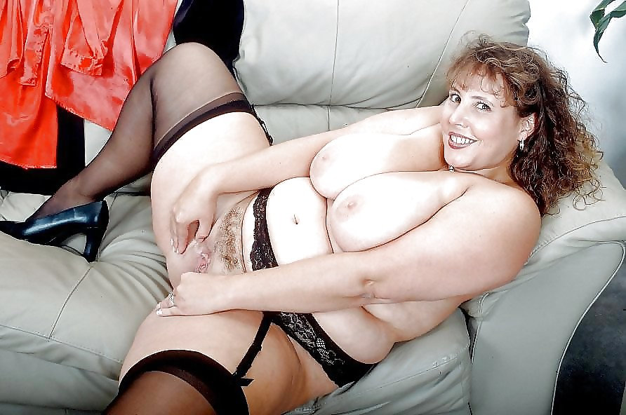 Sexy Mature Bbw Stockings