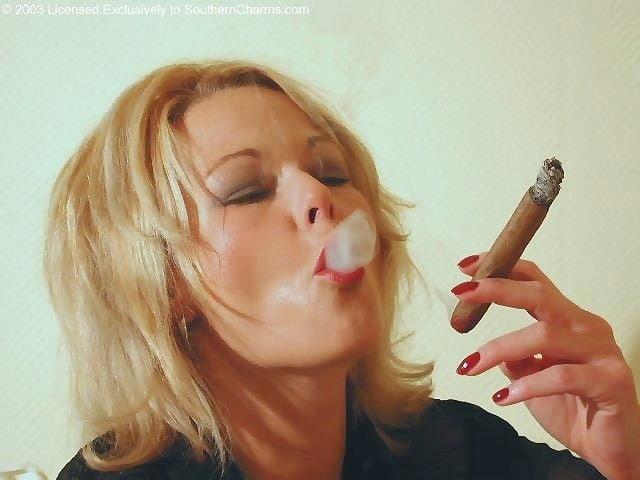 Smoking cigar leathergirls free porn images