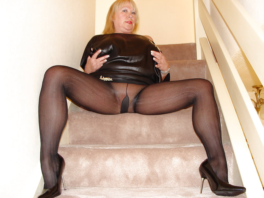 And pantyhose matures and pantyhose sexy and leah