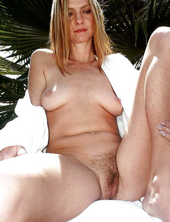 ladies hairy Mature showing