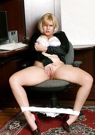 blonde Chubby white