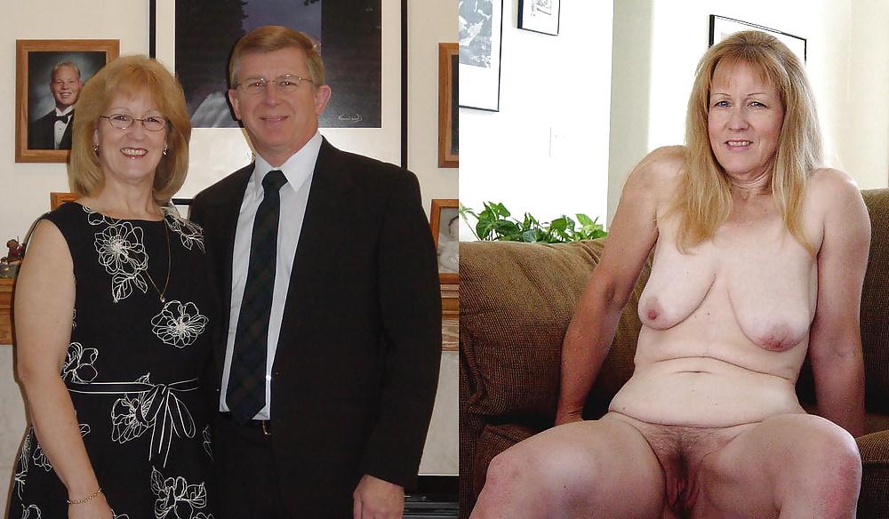 Mature undressing porn