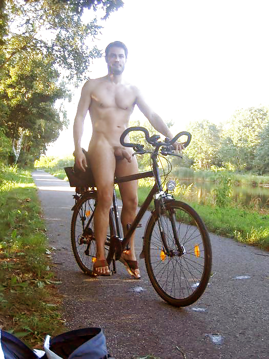 Topless Naked Bycycle Race Jpg