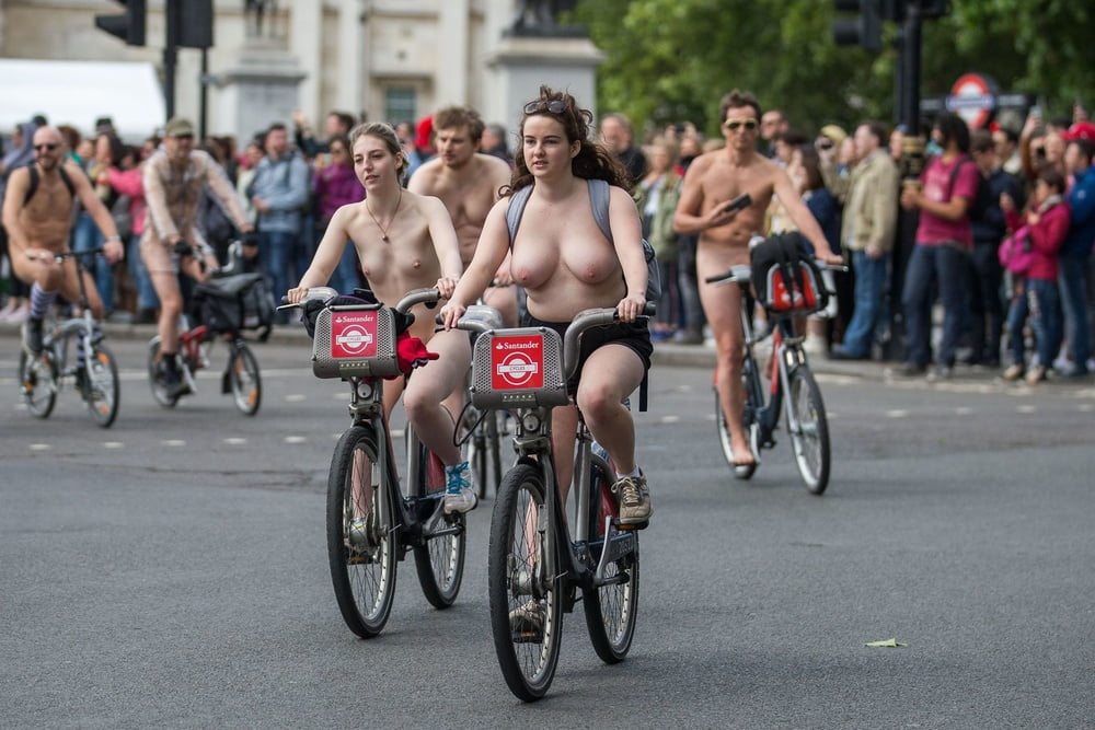 World naked bike ride video