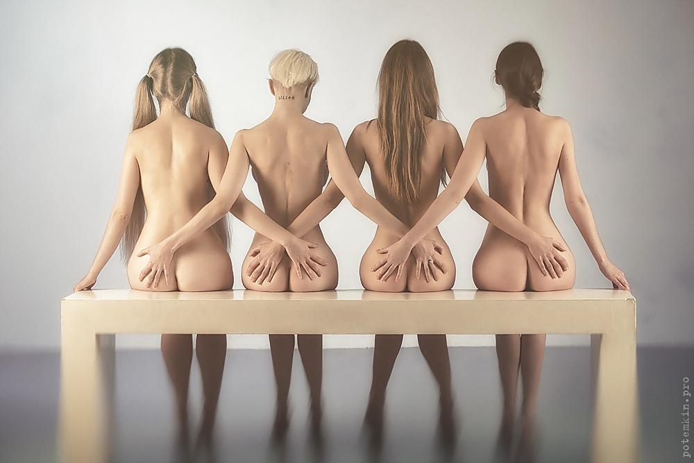 The Nude Art Model By Daniel Peters