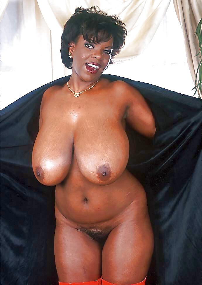 Black milf nude kitchen
