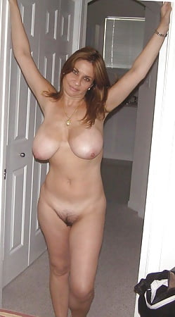 Standing spread pussy