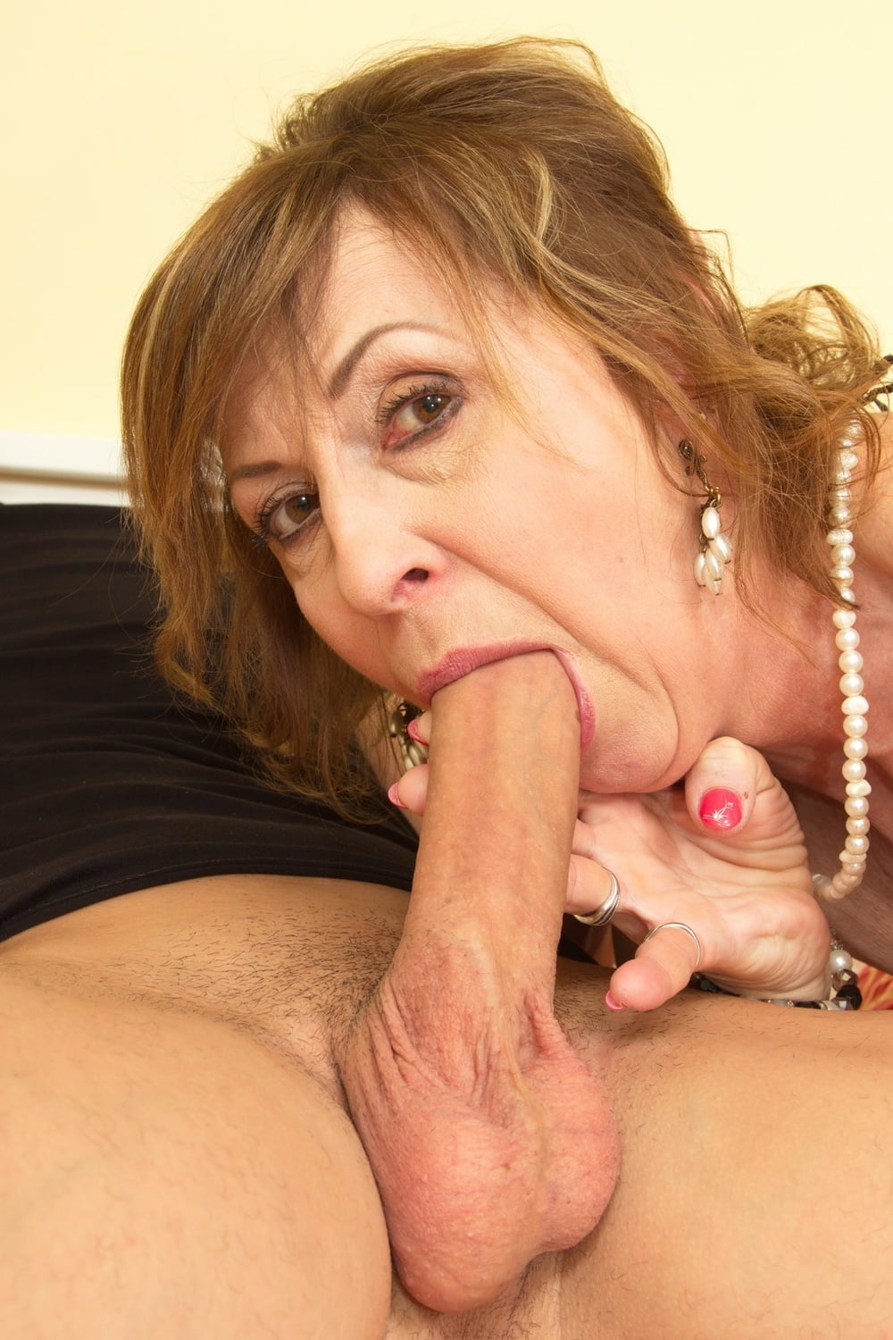 Mostly Mature Women, Cock In Hand