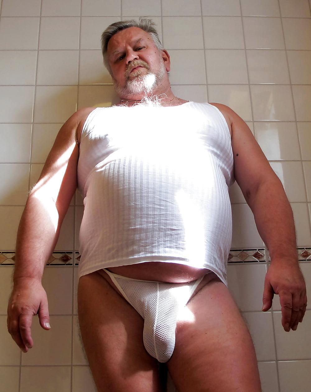 Fat Bear Underwear Men's Elastic Super Thin Ice Silk Sexy