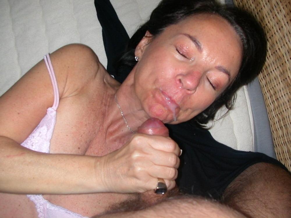 лицо в сперме зрелые бабы фото эротика