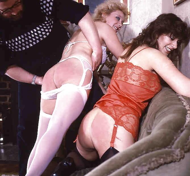 Vintage british spanking