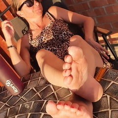 Bare Feet On The Round Table
