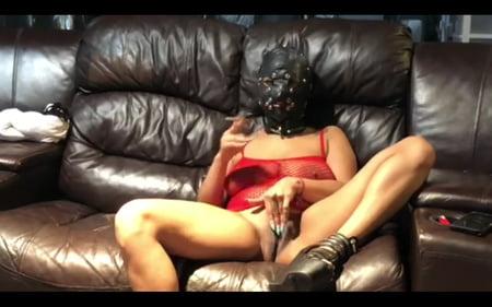fetish mask Smoking