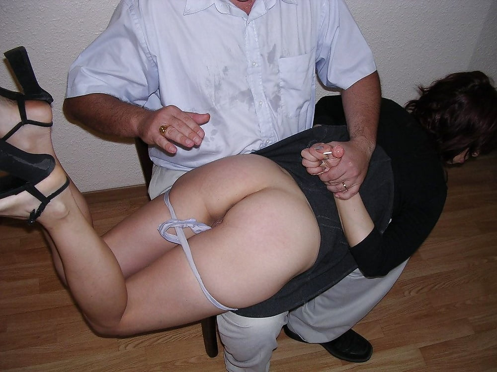 Wife spank pics and porn images