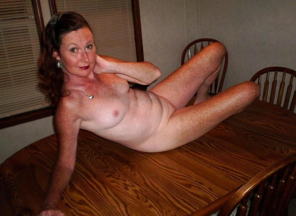 Freckled mature nude — 15