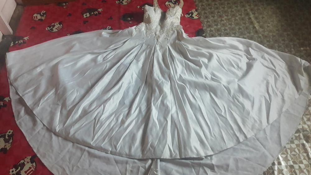 Huge tits wedding dress-2697