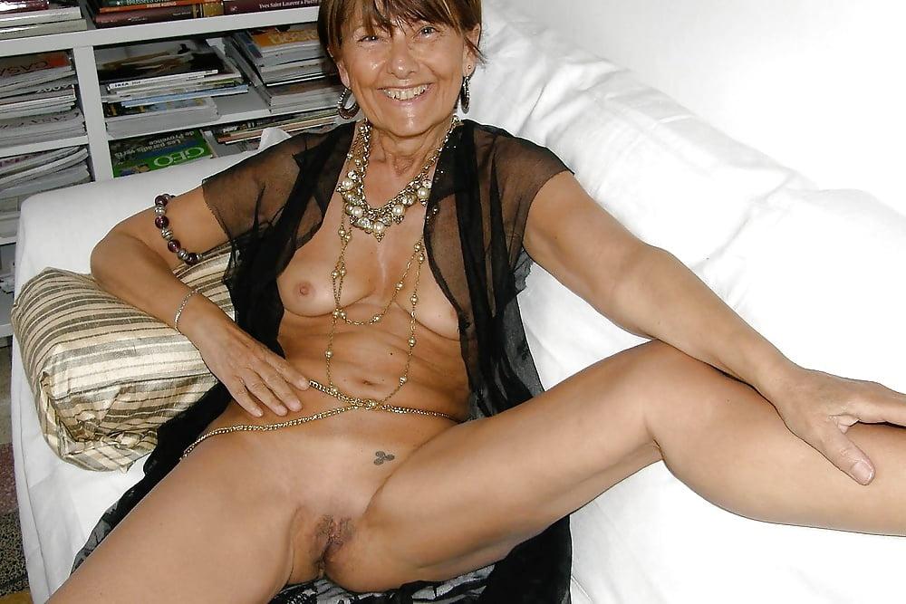 Cheerful mature ladies image photo