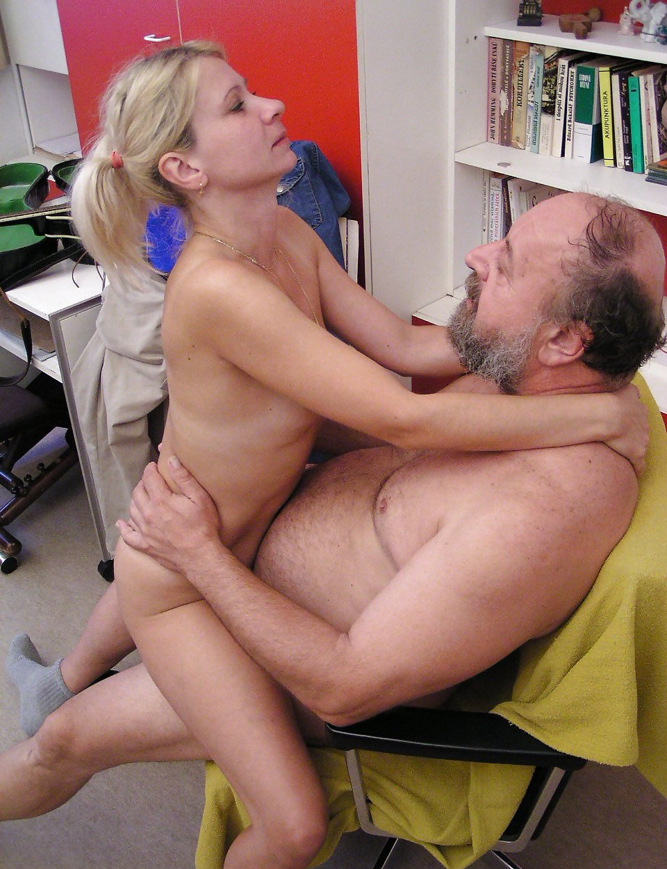 Horny old men fuck young girls hot