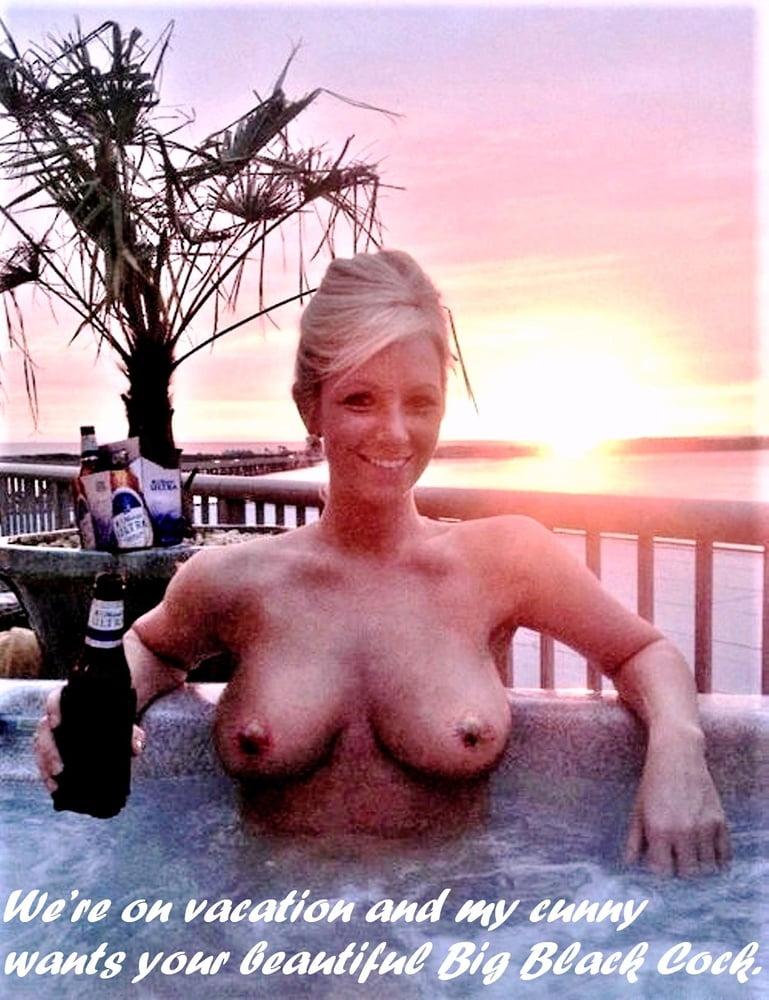 Hot tub nude wife — photo 7