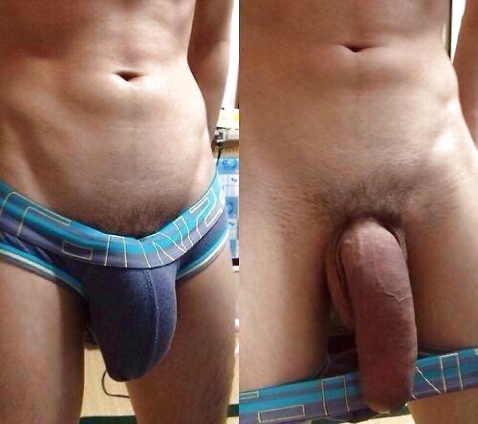 Shorts Bulge, Grabbing In The Restrooms