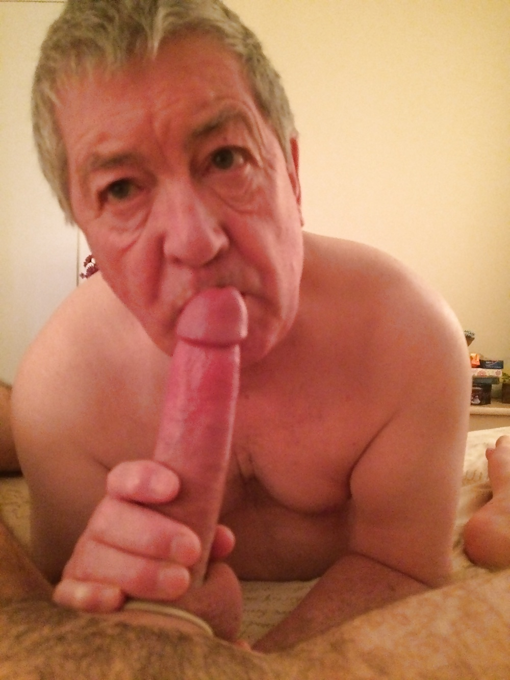 Gay young sucking old