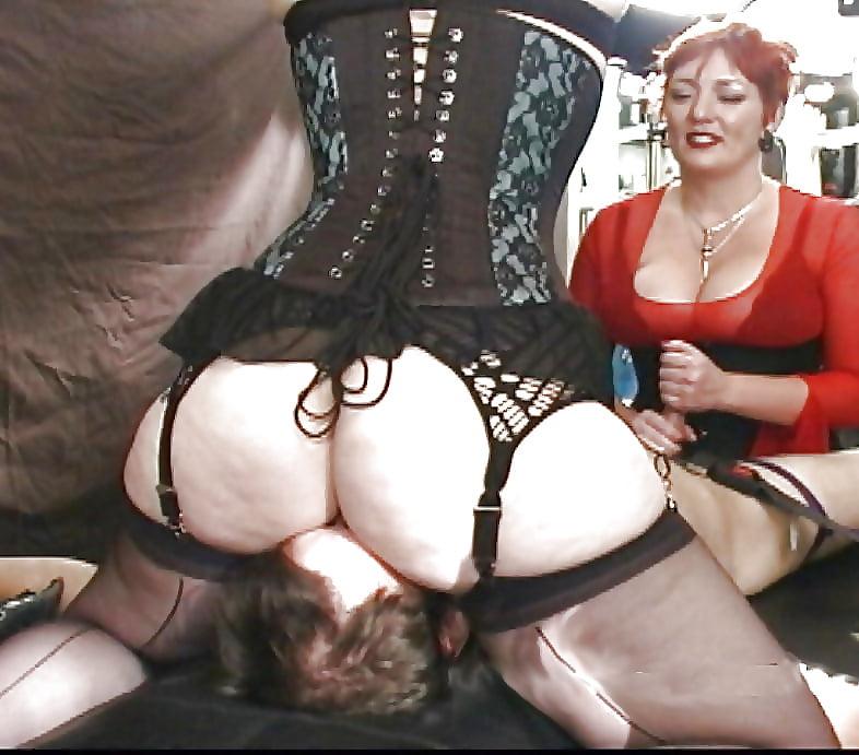 Ass Lick Femdom In Girdle