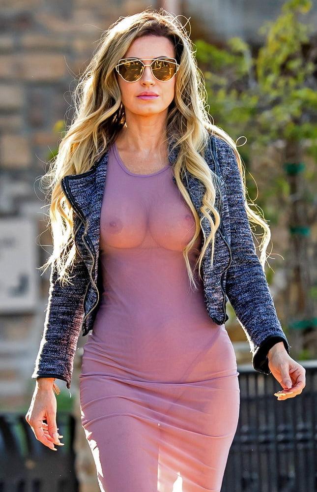 Sexy see through dress