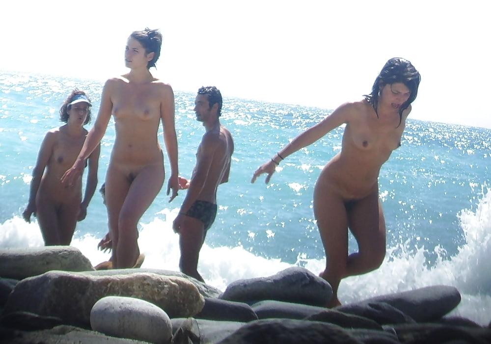 The beach girls nude