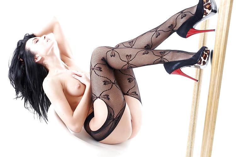 Sexy older women stockings-7085