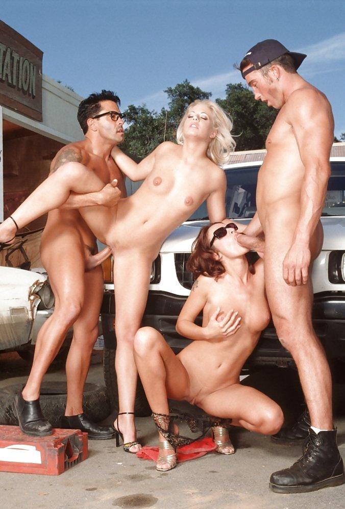 Порно в автомастерской групповой — 6